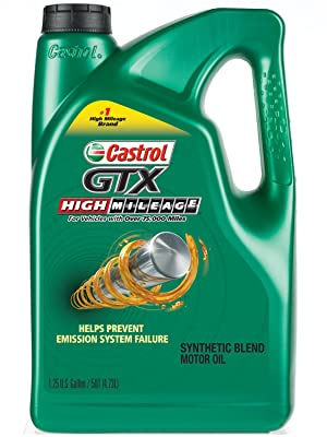 Castrol GTX High Mileage Synthetic Blend