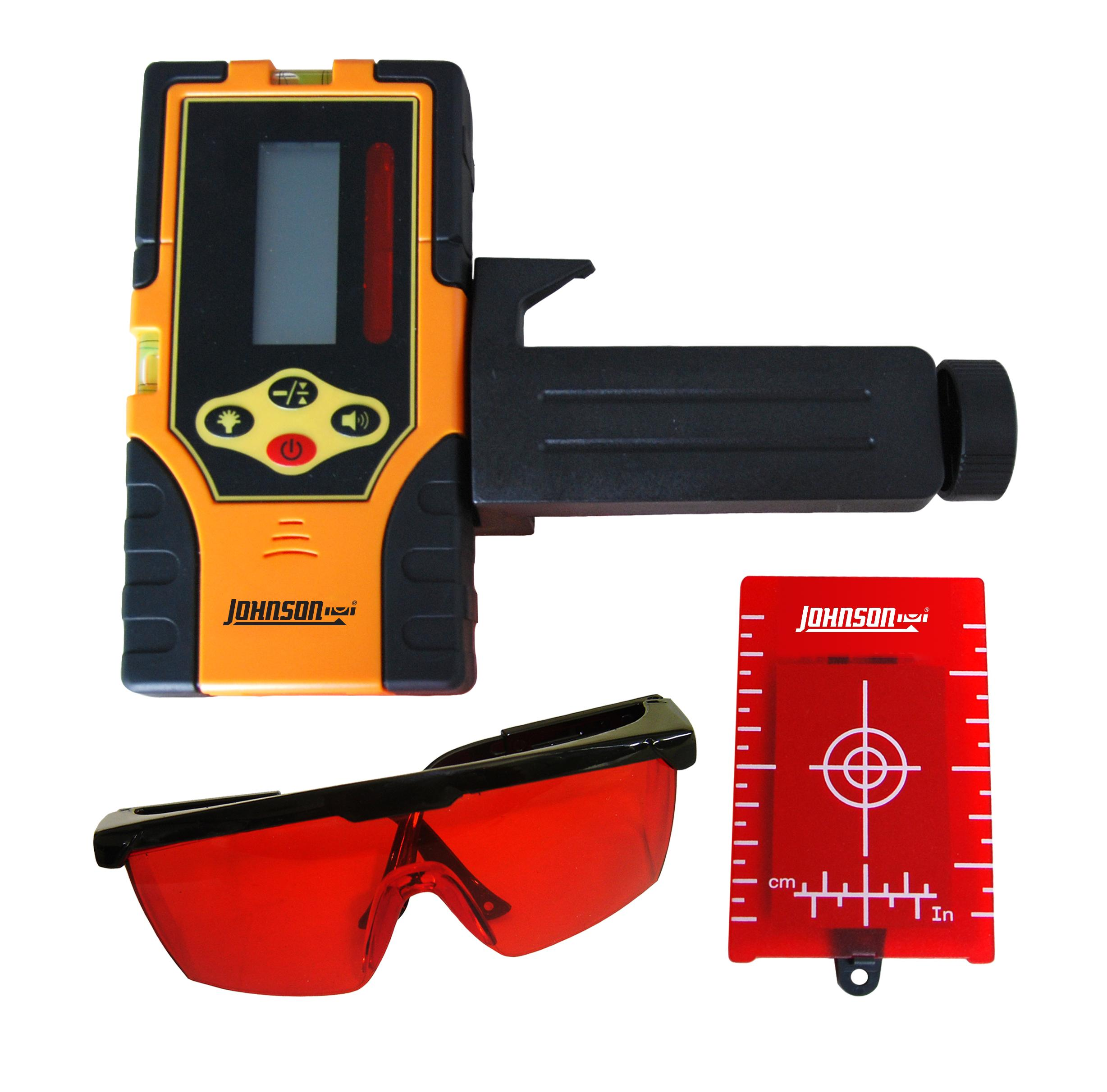 Model #40-6720 Detector with Laser Enhancement Glasses and Target