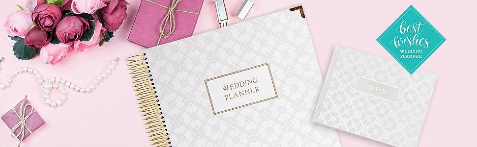 Amazon.com: Planificador de boda Set de regalo para la novia ...