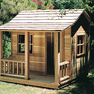 Woodworking Project Paper Plan for Playhouse No. 881 - Indoor Furniture Woodworking Project ...