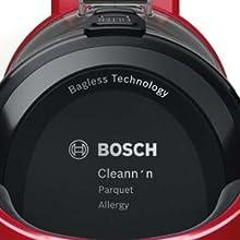 Bosch BGC05AAA2 GS05 Cleannn - Aspirador sin bolsa, 700 W, 1.5 ...