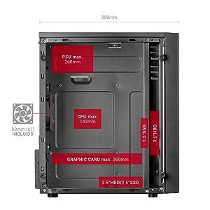 caja gaming microatx
