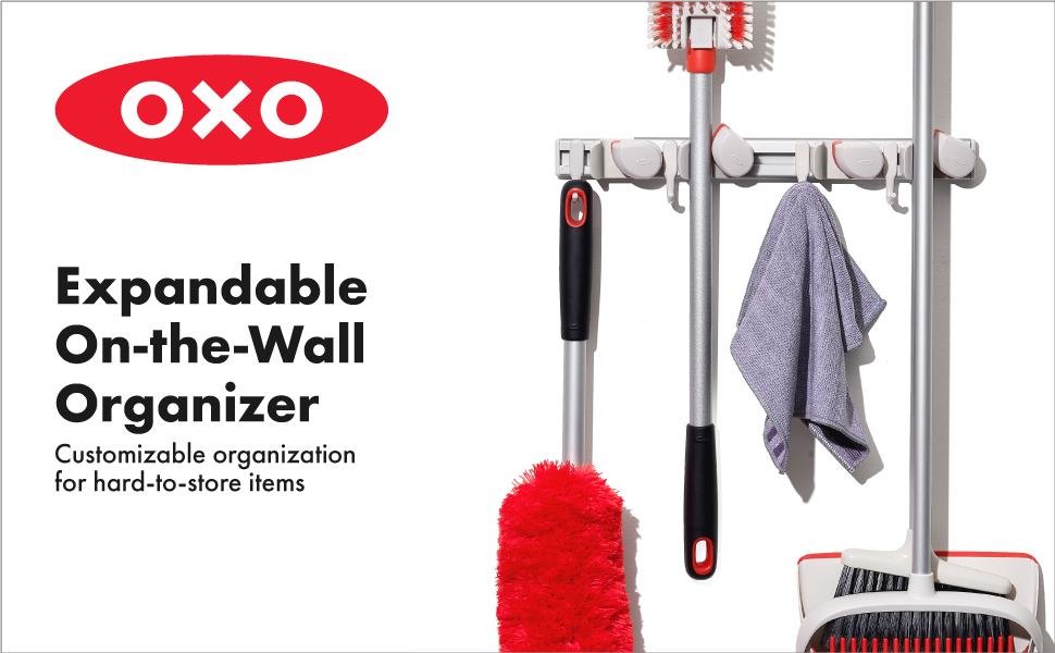OXO Good Grips Expandable On-The-Wall Organizer