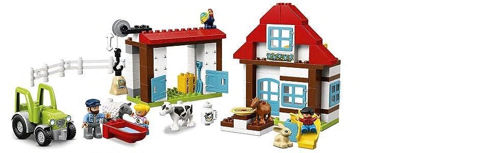 LEGO Duplo Town - Aventuras en la Granja (10869): Amazon