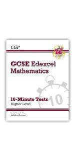 Grade 9-1 GCSE Edexcel Maths 10-Minute Tests from CGP