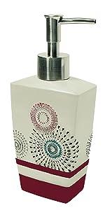 shower dispenser; soap pump; black soap dispenser; ceramic soap dispenser; grey soap dispenser;