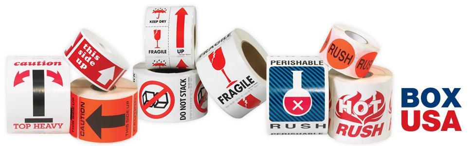 Amazon com: BOX USA BDL1122 Tape Logic Labels,