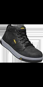 KEEN Utility Men's Redding Mid alloy aluminum toe safety footwear work boot
