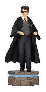 Hallmark Keepsake Storyteller Christmas ornament with Harry Potter with interactive light and sound