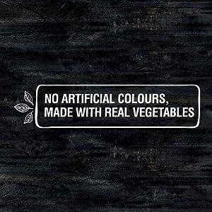 No artifical colours