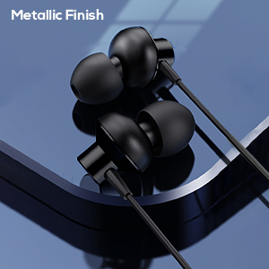 wired earphones with mic