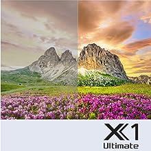 4K HDR Processor X1 Ultimate: Ultimate Realism