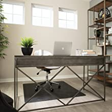 home office floors protect hard hardwood desk executive