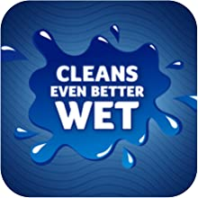 Cleans Better Wet