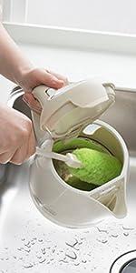 サンコー びっくりフレッシュ びっくりマグボトル洗い マグボトル タンブラー コップ ボトル 洗い グリーン BH-46