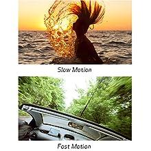 Movimiento lento y rápido, incluyendo grabación de intervalos tanto para 4K como Full HD