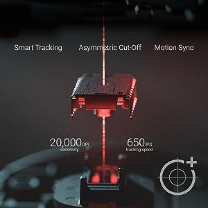 Gaming Mouse Cable Optical Sensor FPS Esport Chroma Lighting LED Right Handed USB Mechanical set