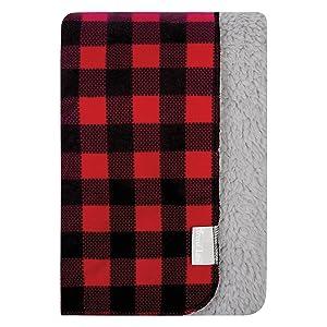flannel blanket, flannel baby blanket, buffalo check blanket, nursery blanket, nursery decor