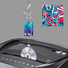 shred, cd, credit card, paper, shredder, au1415xa