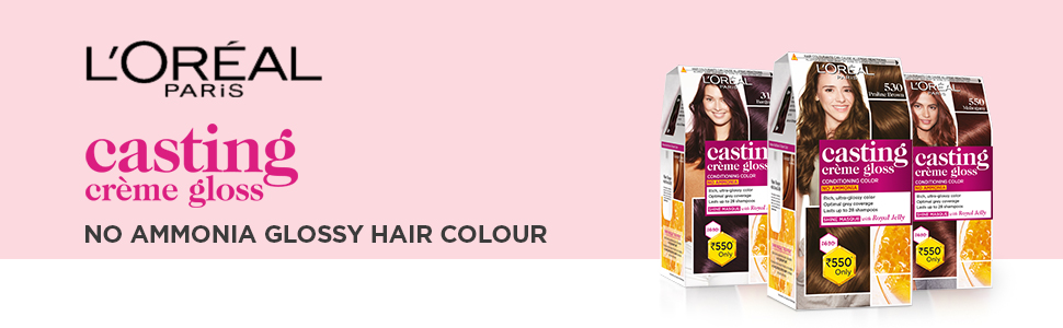 L'Oreal Paris Casting Creme Gloss Hair Color, no ammonia