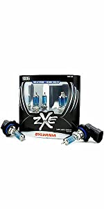 zxe, silverstar, sylvania, white light, bright, style, headlights, bulbs