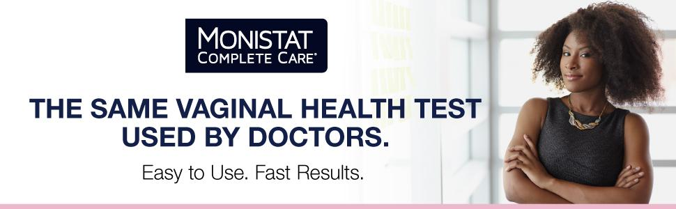The same vaginal health test used by doctors. Easy to use. Fast Results