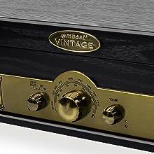 MB-USBTR98 AM FM RADIO AND BLUETOOTH SPEAKER TURNTABLE