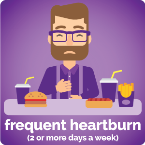 frequent heartburn