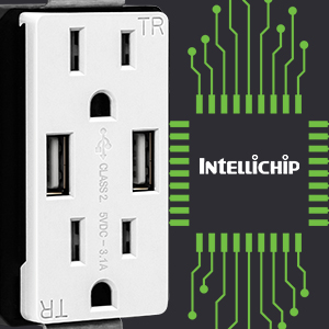 usb receptacle intellichip