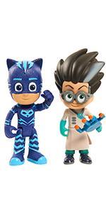 PJ Masks Figuras de acción (Bandai 24557) : Amazon.es ...