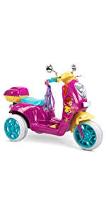 Fancy Nancy toy, battery powered ride on, electric scooter for kids, ride on scooter