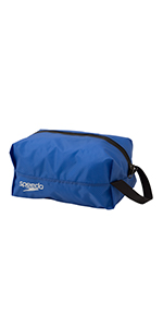 Speedo(スピード) スイムバック ポーチ 防水 ウォータープルーフ S 水泳 プール SD98B66 ブルー BL