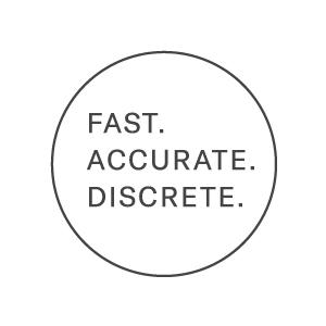 fast. accurate. discrete.
