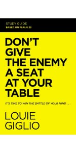 dont give the enemy a seat at your table study guide