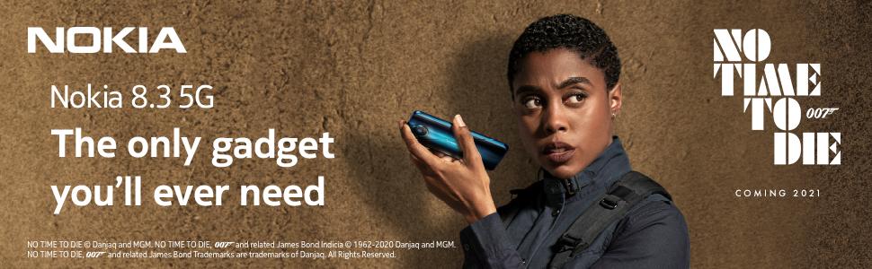Nokia 8.3 Bond hero