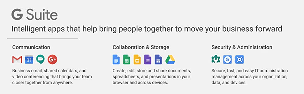 G Suite Business   Monthly Subscription with Auto-renewal   includes  Business Gmail, unlimited Drive storage, Docs, Calendar, and more