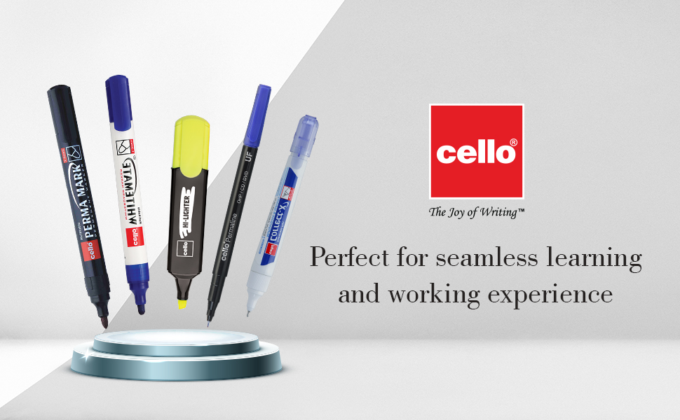 Cello Marker Pens & Highlighters | Permanent Markers