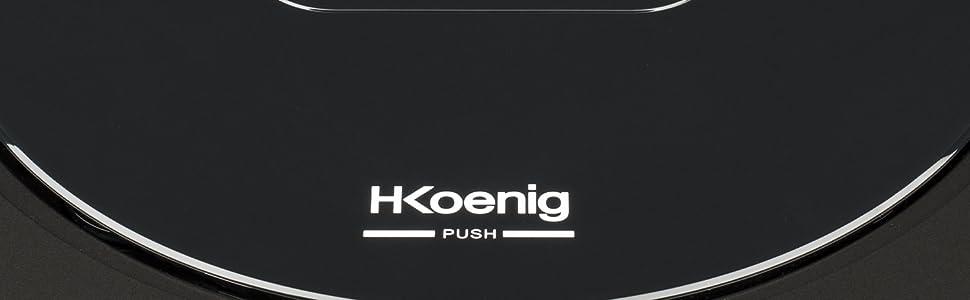 H. Koenig swrc110 aspirador negro: Amazon.es: Hogar