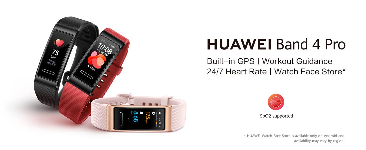 huawei band 4 pro smartband