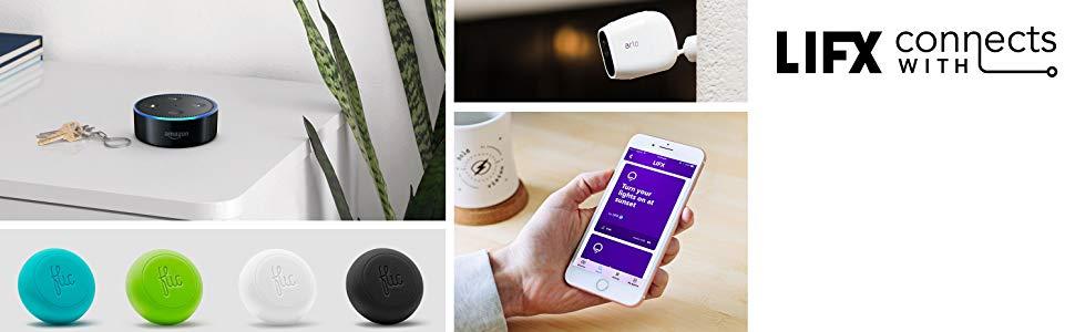 Amazon Alexa, Google Assistant, Apple Homekit, color, smartphone, LED Bulb, powersaver, downlight,