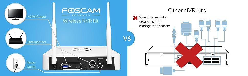 Foscam FN-3104W NVR comparison