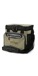 16 Can Titan Deep Freeze Zipperless Cooler