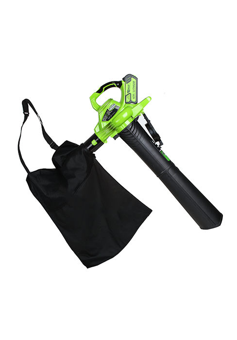 greenworks corded electric leaf blower