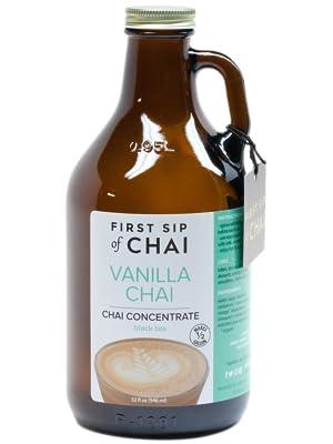 vanilla chai concentrate