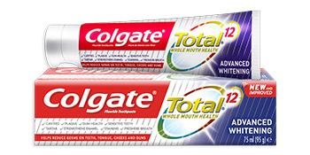 COLGATE ADVANCE WHITENING