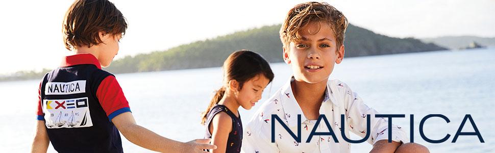 Nautica, Nautica Girls, dresses, shorts, tee shirts, boys clothing, girls clothing