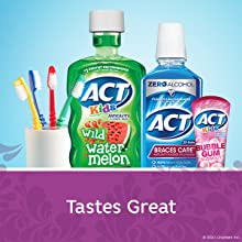 Best mouthwash flavors for kids.