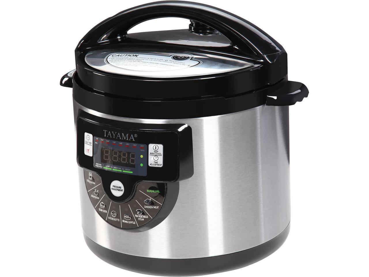 Tayama tmc 60xl 6 quart 8 in 1 multi function for Multi cooker