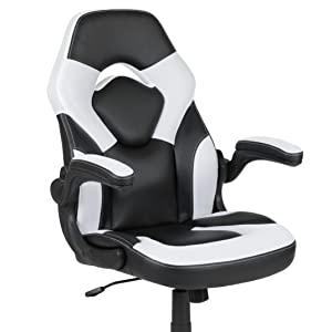 Gaming Desk and Racing Chair Set with Cup Holder and Headphone Hook