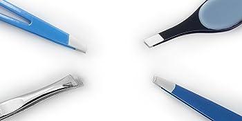 slant tip tweezers versatile popular eyebrow waxing stray hair remove pluck tweeze